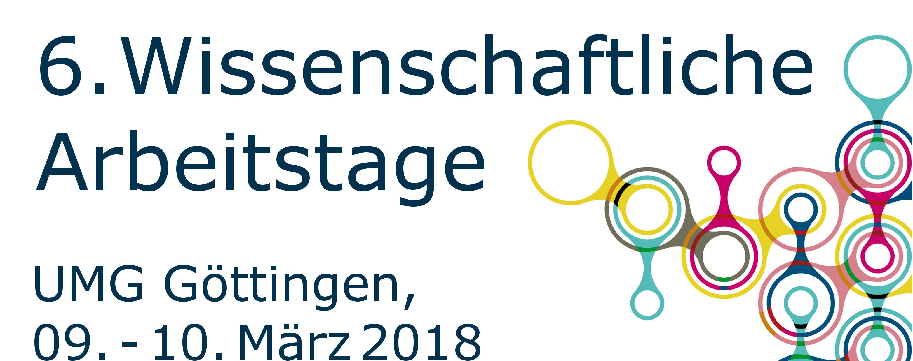 Wissenschaftliche Arbeitstage Erlangen Göttingen Allgemein